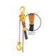 HARRINGTON lb Lever Chain Hoist, 6000 lb Load, 15 ft Lifting Height, 69 lb Rated, 16 ft Chain, 1-33/64 in Hook